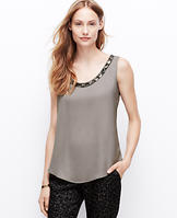 Embellished Neck Shell