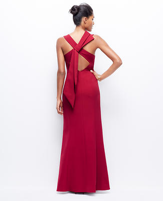 Bow Back Gown