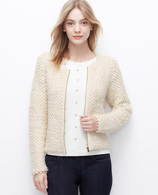 Bauble Zip Sweater Jacket