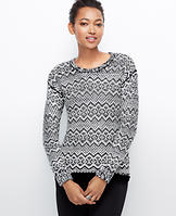 Elliptical Stitch Sweater