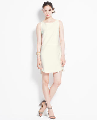 Rounded Hem Shift Dress