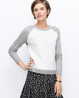 Textured Front Sweatshirt