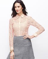 Winter Lace Top