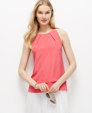 Image of Silk Halter Top