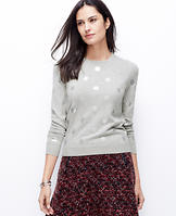 Foil Dot Sweater
