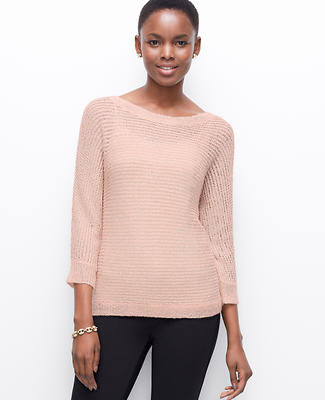 Sequin Boatneck Sweater