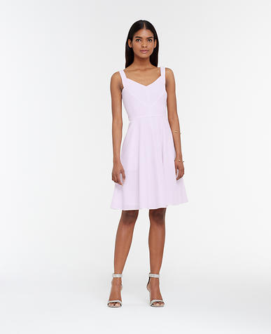 Image of Seersucker Flare Dress