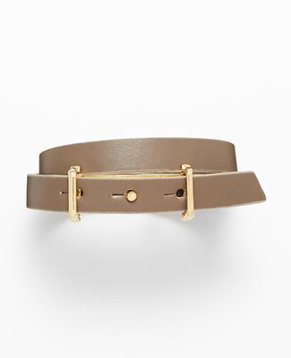 Iconic Leather Wrap Bracelet