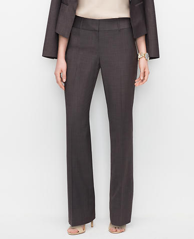 Image of Petite Curvy Pinstripe Trousers