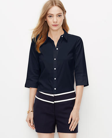 Image of Perfect Short Sleeve Button Down Shirt