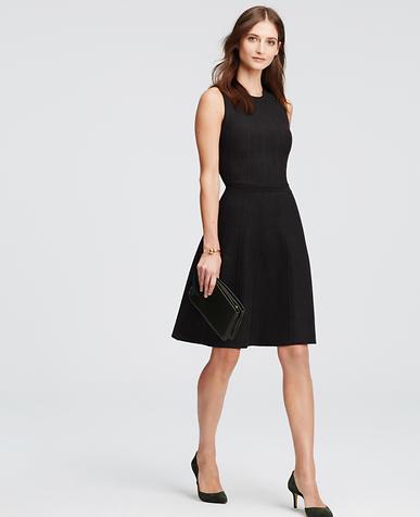 Image of Sleeveless Sweater Dress