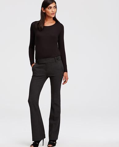 Image of Devin Refined Flare Trousers