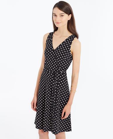 Image of Dot Wrap Dress