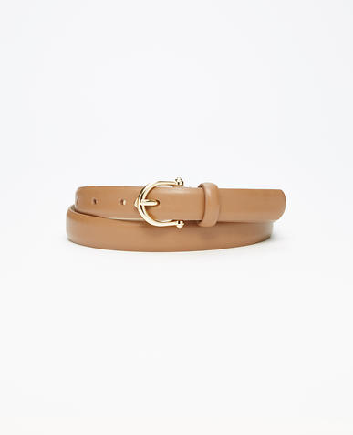 Image of Equestrian Leather Belt