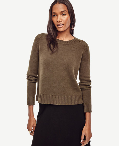 Ann Taylor Relaxed Cashmere Sweater