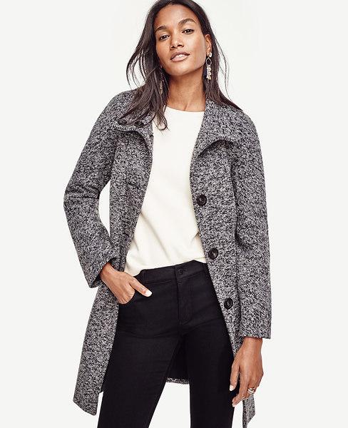Mod Tweed Coat