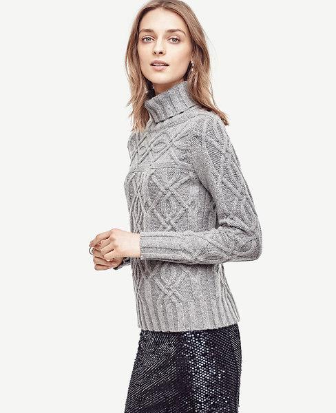 Aran Cable Stitch Sweater