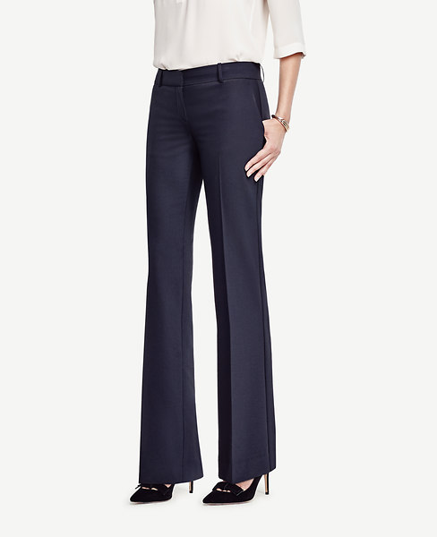 Ann Taylor Petite Devin Tropical Wool Trousers
