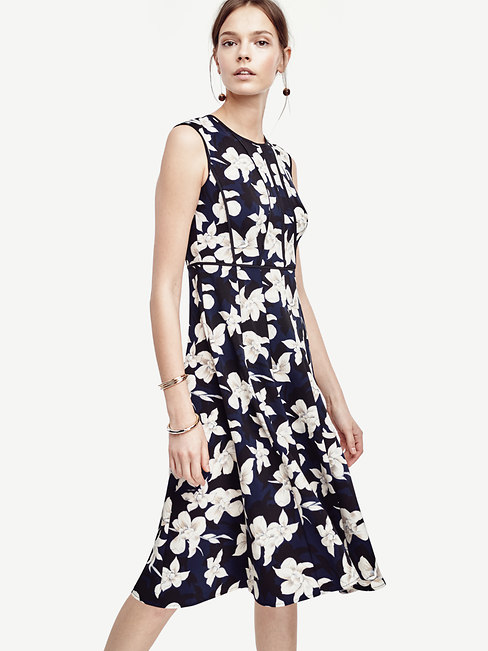 Garden Blossom Fit and Flare Dress
