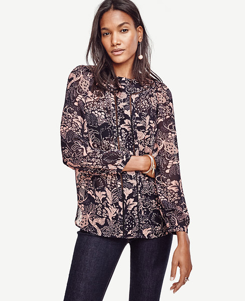 Forest Lacy Blouse