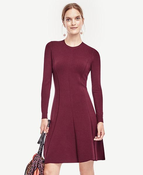 Flare Sweater Dress