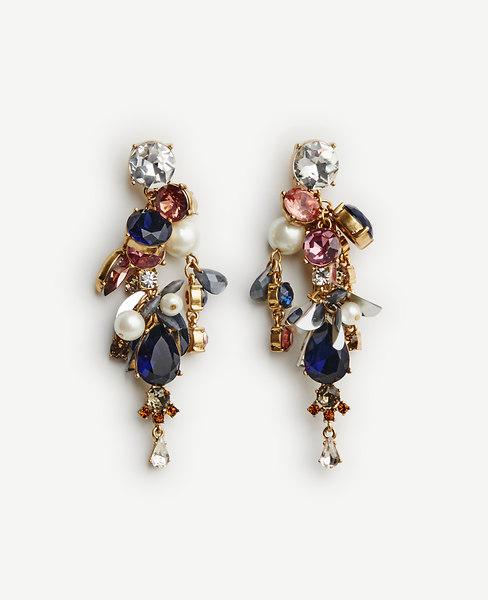 Dragonfly Cluster Earrings