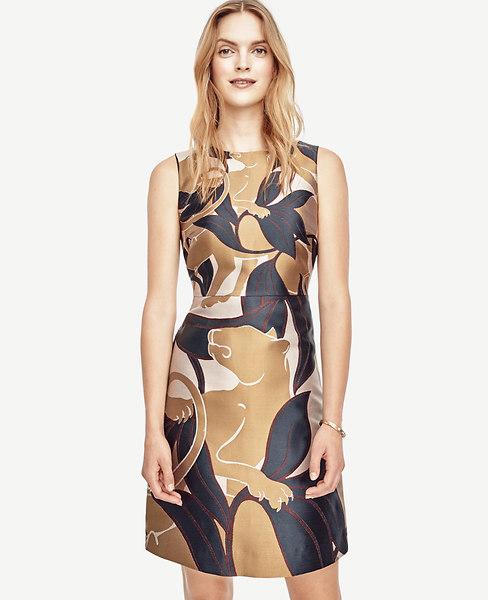 Jungle Cat Flare Dress