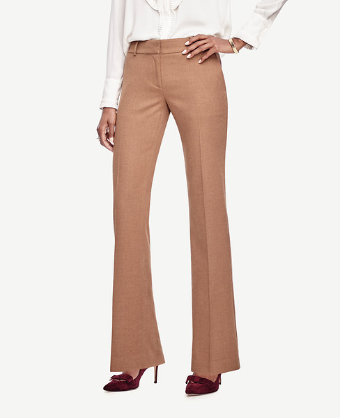 Ann Taylor Kate Flannel Trousers