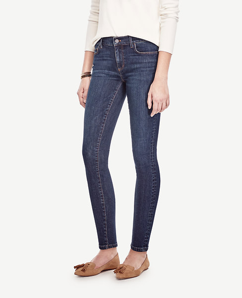 Ann Taylor Petite Modern Skinny Ankle Jeans