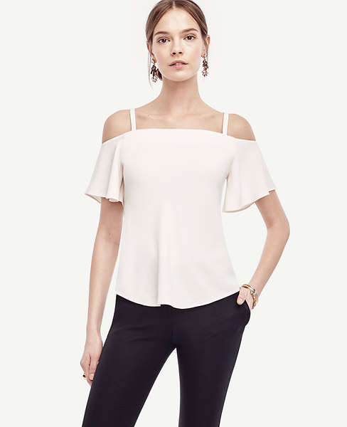 Strappy Off The Shoulder Top