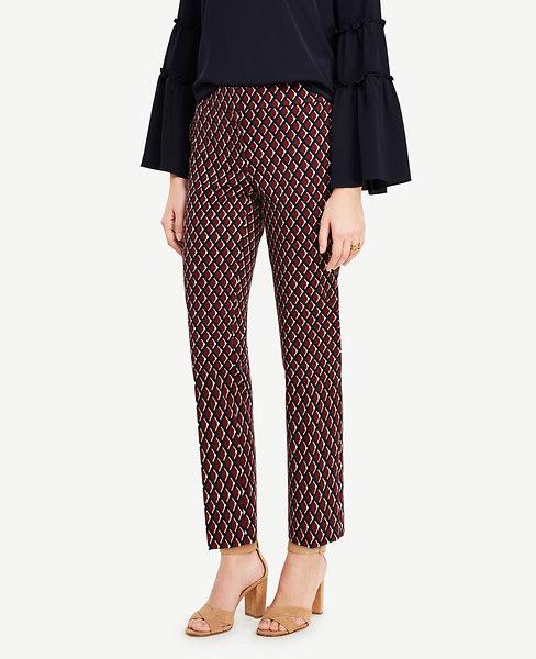 Ann Taylor Kate Diamond Everyday Ankle Pants