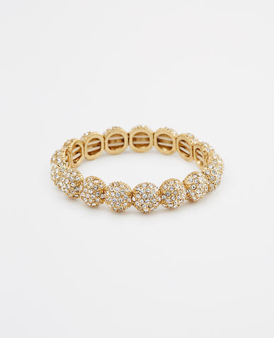 Image of Pave Cabachon Stretch Bracelet