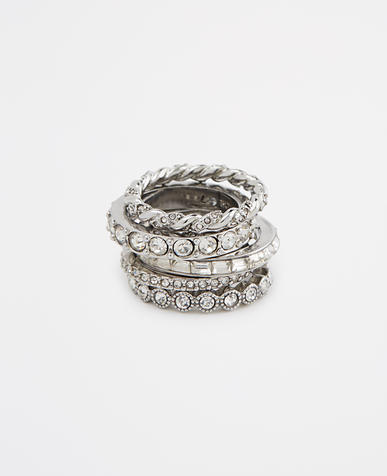 Image of Deco Stackable Rings