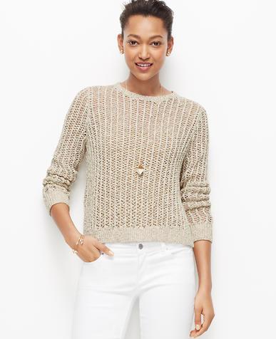 Image of Stitchy Marled Sweater