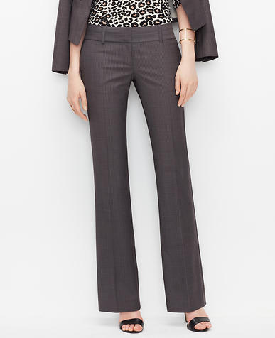 Image of Petite Modern Pinstripe Trousers