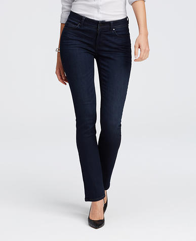 Image of Curvy Slim Denim Jeans