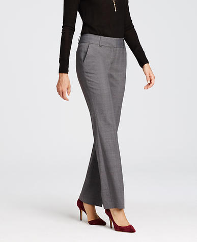 Image of Tall Ann Glen Plaid Trousers