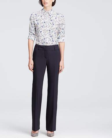 Image of Ann Tropical Wool Trousers
