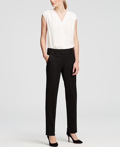 Image of Petite Ann All-Season Stretch Straight Leg Pants