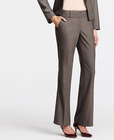 Image of Devin Mini Herringbone Trousers