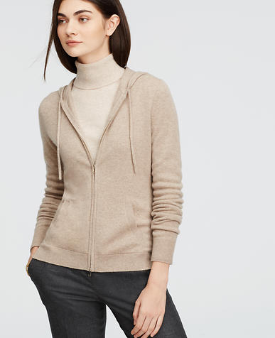 Image of Petite Cashmere Hoodie
