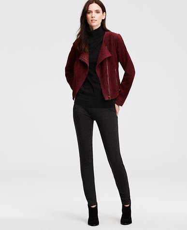 Image of Suede Cropped Jacket