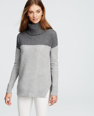 Image of Cashmere Colorblock Sweater