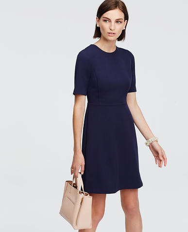 Image of Stretchy Short Sleeve Dress