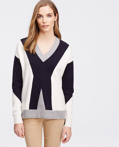Image of Colorblock Pullover