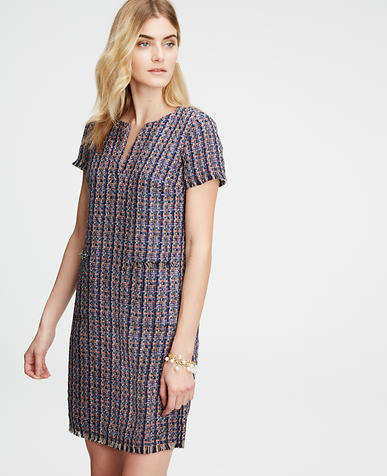 Image of Tweed Shift Dress