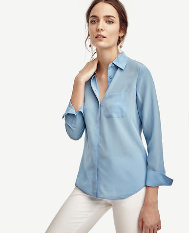 Image of Silk Shirt
