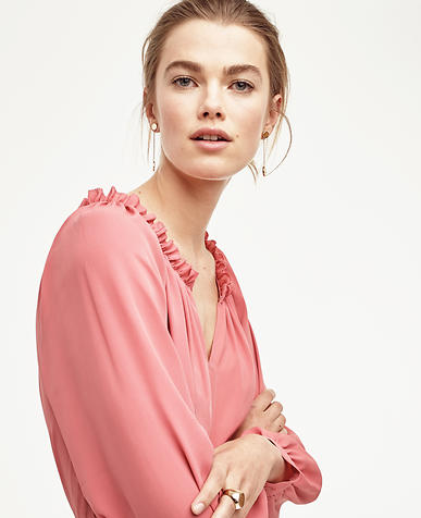Image of Flounce Blouse