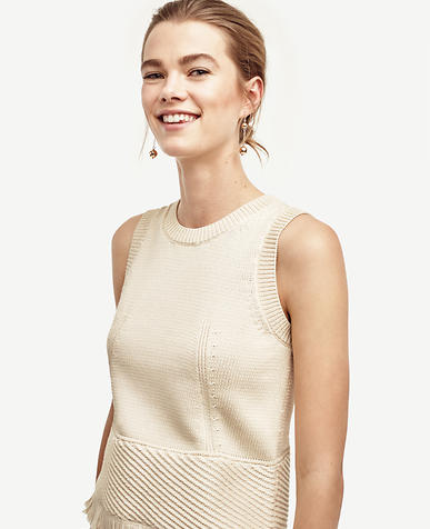 Image of Fringe Sweater Shell