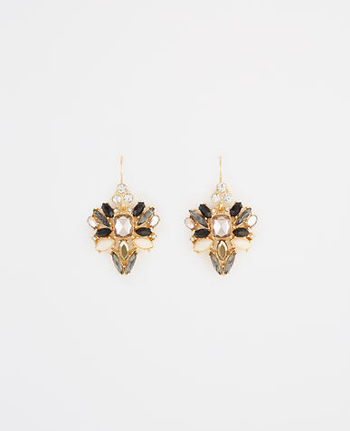 Image of Scattered Stone Statement Earrings
